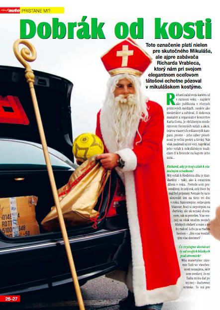 Haló Auto, December 2006: Dobrák od kosti