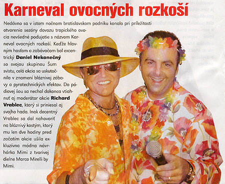 TV Komplet 9. Január 2004: Karneval ovocných rozkoší