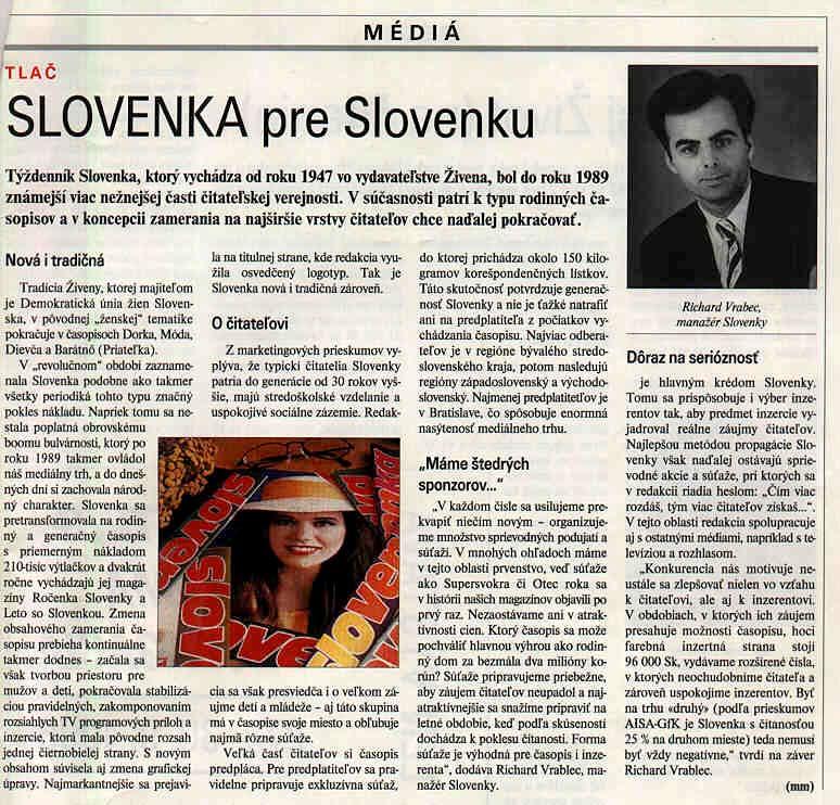 Slovenka pre Slovenku