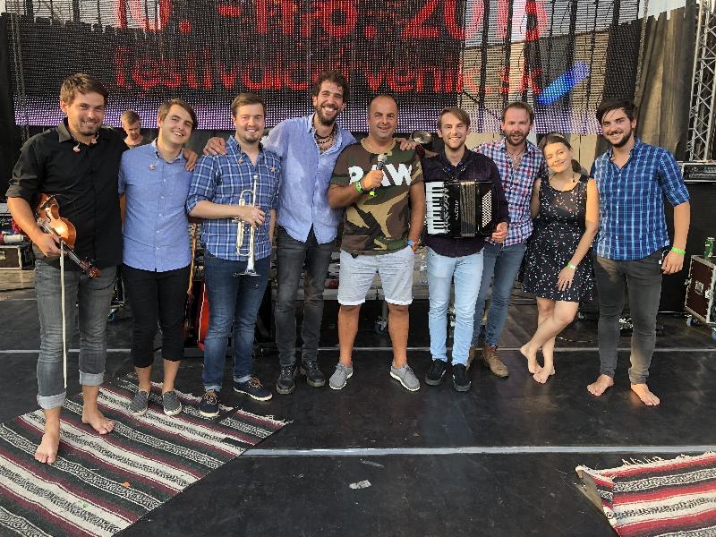 53.ročník festivalu Červenik. Česka skupina Jelen. 10.-11.august 2018 Červenik