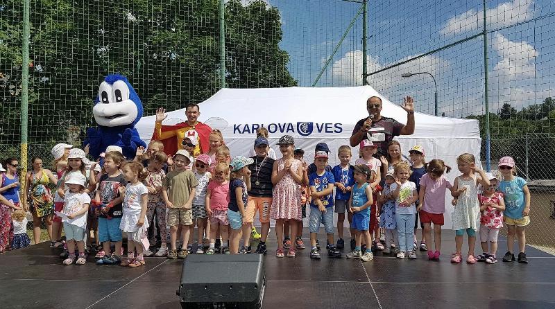 MDD so snickom Hugom a TV Rik vdaka Karloveskemu sportovemu klubu. 3.juna.2018. Bratislava Karlova ves.
